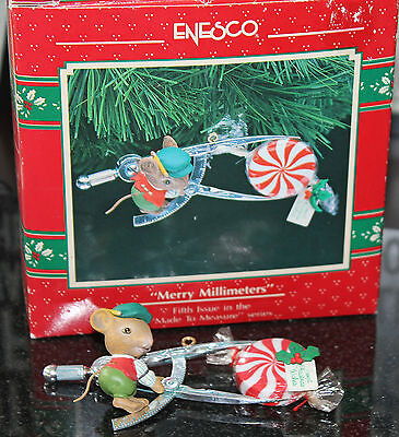 1991 Enesco Merry Millimeters 5Th In Made To Measure Series