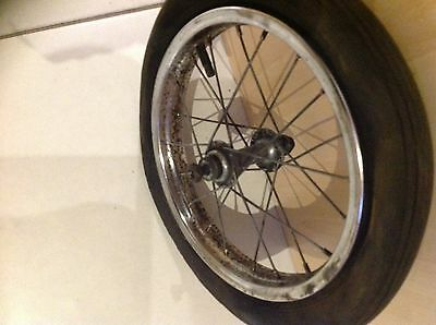 Raleigh Tomahawk Mk1 Front Wheel