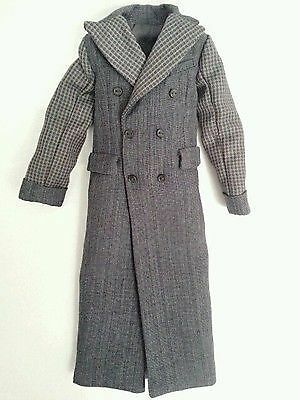 """Fashion Royalty Homme Male Lukas """"Beauty"""" Doll Clothes Outfit - Long Coat"""