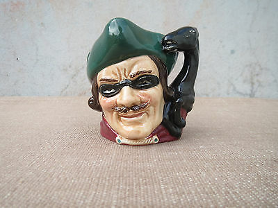 Vintage Royal Doulton Small Character Jug, Dick Turpin, Great Condition D 6542