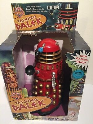 Doctor Who - Talking Dalek - Product Enterprise - Red/gold/black Exclusive