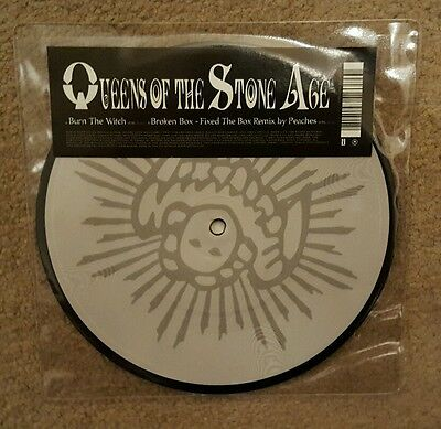 "Queens Of The Stone Age 'burn The Witch' 7"" Vinyl Picture Disc Single"