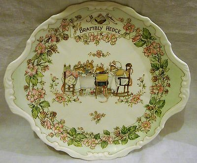 RARE Royal Doulton Brambly Hedge Bread & Butter Plate - VGC
