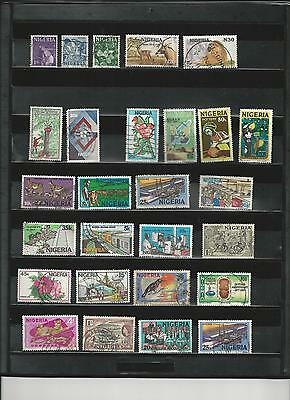 Nigeria - Selection Of Used Stamps - #nig1