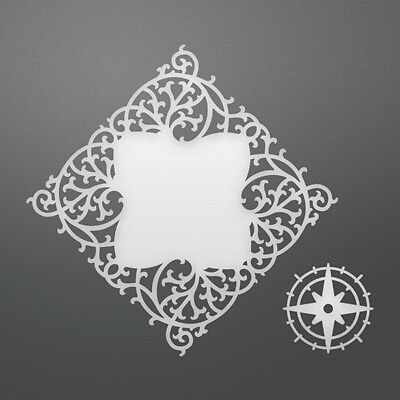 """Couture Creations Intricutz Dies - Cardinal Frame - 3.3""""x3.3"""" (CO724697)"""