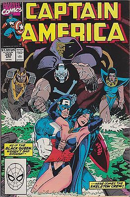 Captain America #369 Marvel 1990 Combined Shipping  Avail.