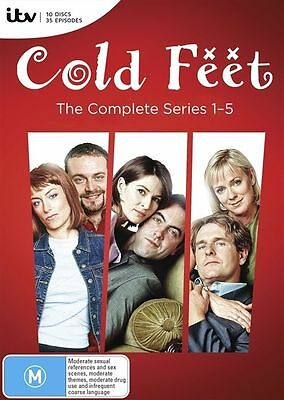 Cold Feet : The Complete Series 1-5 | Boxset : NEW DVD
