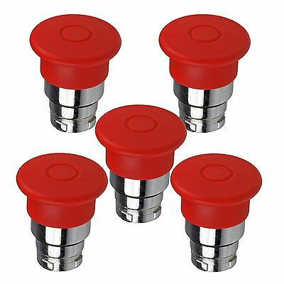 Telemecanique ZB2BT4 Double Headed Red Push Buttons [Lot of 5] ZB2-BT4