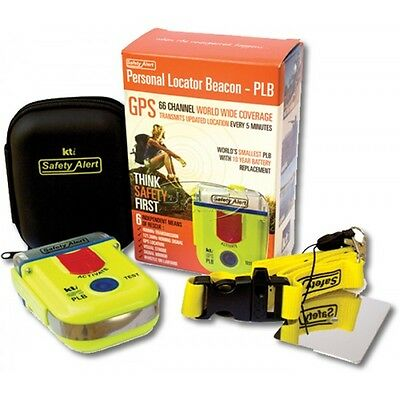 Personal Locator Beacon (PLB) with GPS + FREE Wearable Sports Armband, Oz made!
