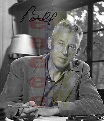 REPRINT RP 8x10 Signed Autographed Photo: Alcoholics Anonymous AA Bill Wilson