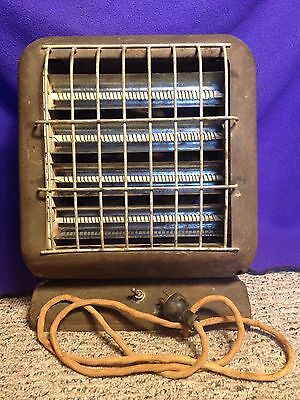 Antique 1940s Electric Space Heater