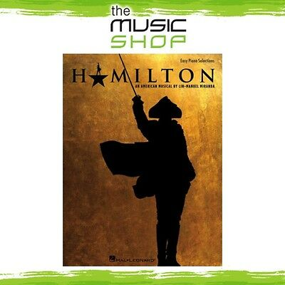 New Hamilton the Musical Vocal Selections Music Book for Easy Piano