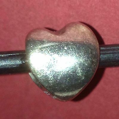 Authentic Trollbeads Heart Charm