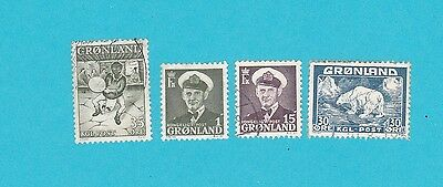 GREENLAND USED Stamps COLLECTION  . lot#196