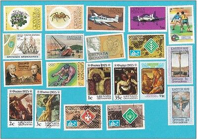 GRENADA MNH & USED  Stamps COLLECTION  . lot#255