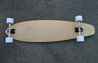 PT2 Top Mount Easy People Pintail Natural Longboard Complete