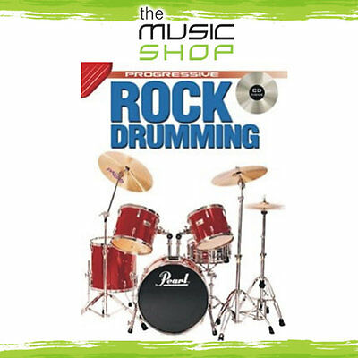 New Progressive Rock Drumming Music Book with CD by Andy Griffiths
