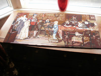 Penelope Printed large completed Tapestry  When did you last see your father?