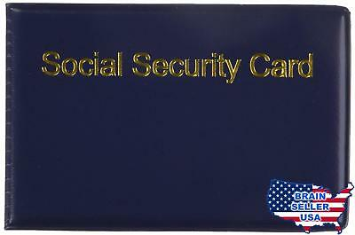 SOCIAL SECURITY CARD HOLDER 2-PACK SILVER PRODUCTS, New, Free Ship