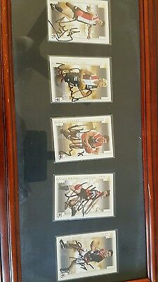 St Kilda signed players cards