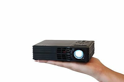 AAXA LED Showtime 3D Micro Projector- 450Lumens, 720P HD, and HDMI (REFURBISHED)