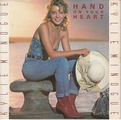 """Hand On Your Heart/Just Wanna Love You 7"""" : Kylie Minogue"""