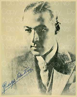 Rudolph Valentino signed 8X10 photo picture poster autograph RP