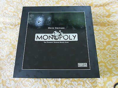 MONOPOLY ONYX LIMITED EDITION FULL INTACT SET by PARKER