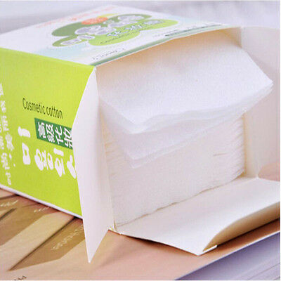 Disposable Facial Chic Cleansing Cotton Tissue Pad Makeup Remover 80 Sheets