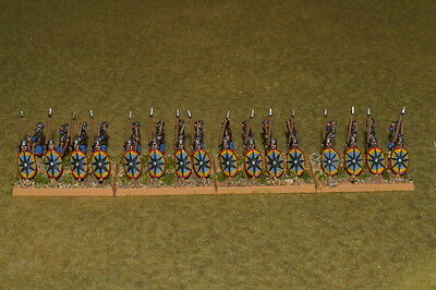 15mm DPS painted Medieval DBM DBA FOG Thermatic Byzantine Skoutatoi & Archers 02