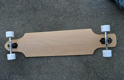 Easy People Drop-1 Natural Drop-Through Longboard Complete