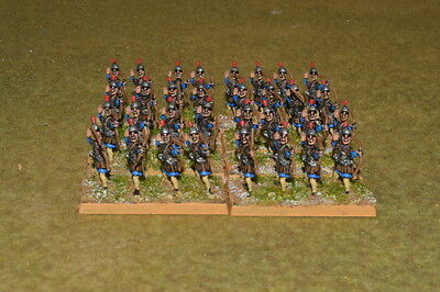 15mm DPS painted Medieval DBM DBA FOG Thermatic Byzantine Skoutatoi Archers 001