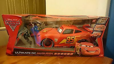 Ultimate RC Lightning McQueen _ Disney Pixar Cars 2 Collectible _ Brand New!!!!