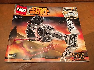 LEGO Star Wars Instruction Manual Only #75082 Tie Advance Prototype
