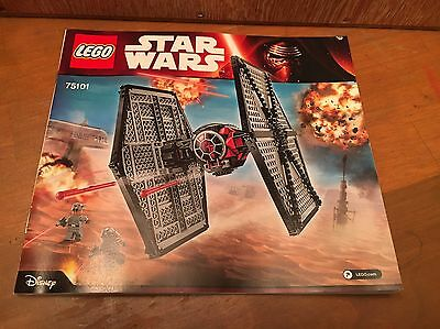 LEGO Star Wars Instruction Manual Only #75101