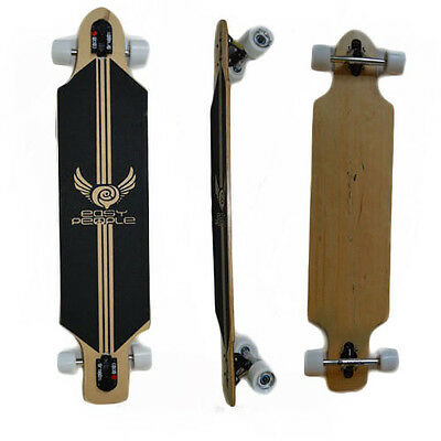Easy People Drop Through DT-1 Deck Natural Longboard Complete wheels trucks Grip