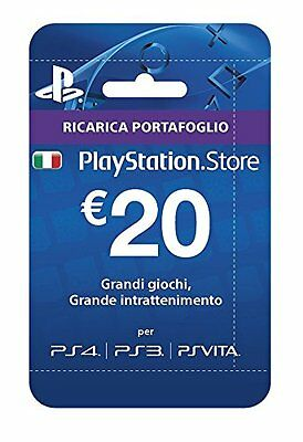 PlayStation Live Card Hang 20 Euro