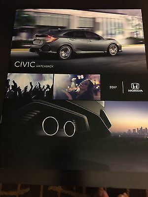 2017 HONDA CIVIC 8-page Original Sales Brochure