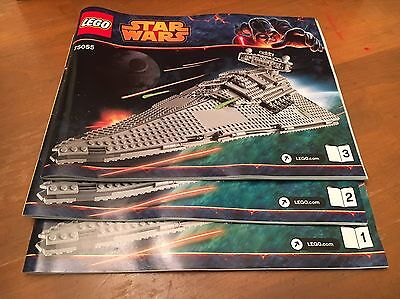 LEGO Star Wars Rebels Instruction Manuals Only #75055 ALL 3