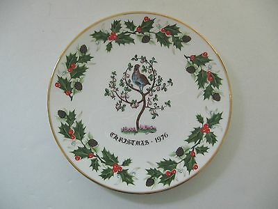 """Royal Grafton """"Twelve Days of Christmas"""" First Edition Plate 1976 Ex. Conition"""