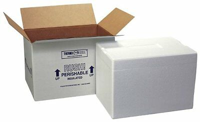Polar Tech 271C Thermo Chill Insulated Carton with Foam Shipper, Extra Large, 26