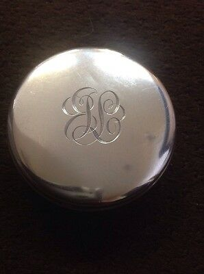 Sterling Silver Compact Box
