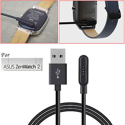 For ASUS ZenWatch 2 Smart Watch USB Magnetic Faster Charging 100cm Cable Charger