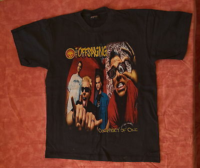 OFFSPRING Conspiracy of One US Punk Rock Band T-Shirt 100% Cotton L Size