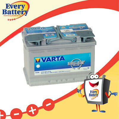 E39 : Varta E39 (DIN65LH) Start/Stop AGM Battery