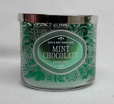 1 Bath & Body Works MINT CHOCOLATE 3-Wick 14.5 oz Scented Candle