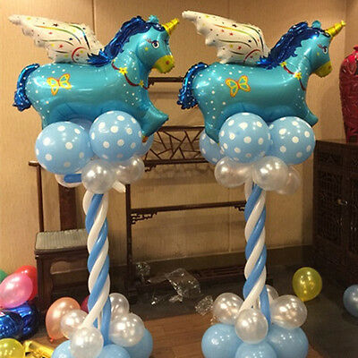 Unicorn Foil Helium Balloons Balls for Birthday Party Decoration Party Supplies