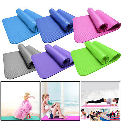 15mm Thick Durable Yoga Mat Non-slip Exercise Fitness Pad Mat Lose Weight