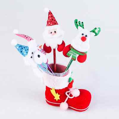 1PC Cute Candy Boots Christmas Decoration Home Decor Pen Container Storage Box