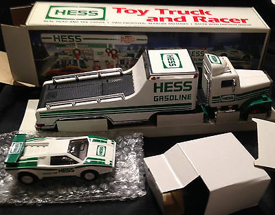 Hess Truck 1991, Toy Truck And Racer, New In Box